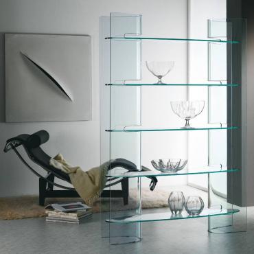 Slalom - bookshelves